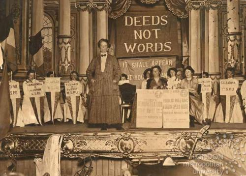 LSE Smyth 1912 Suffrage meeting