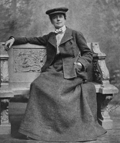 Portrait of Ethel Smyth Dupont 1903
